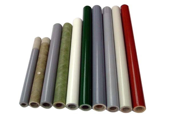 Vulcanized fibre tube wrapped with fibre glass fuse tubes arc-quenchin